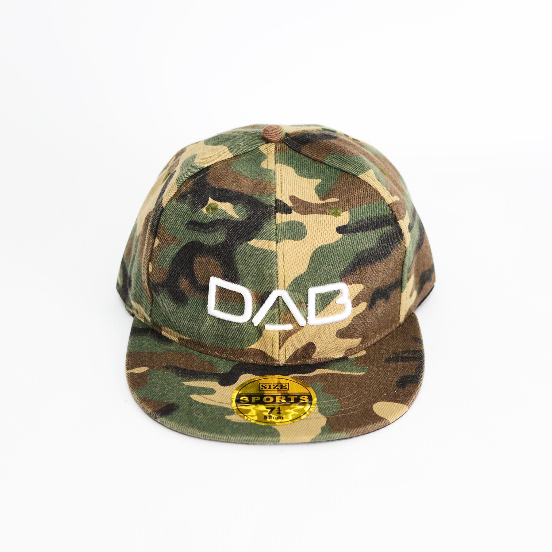 0a3b993e318 Flat Snapback - Camo - DAB Active Wear